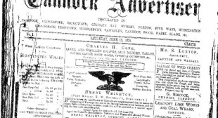 The Cannock Advertiser Saturday June 15 1878
