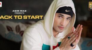 Back To Start Lyrics – Asim Riaz