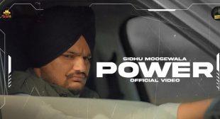 Power Lyrics – Sidhu Moose Wala