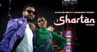 Shartan Lyrics – Khan Bhaini