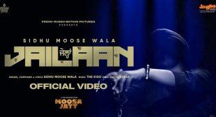 Jailaan Lyrics – Sidhu Moose Wala