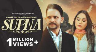 Supna Lyrics – Afsana Khan
