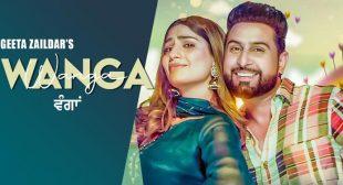 Wanga Lyrics – Geeta Zaildar