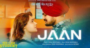 Jaan Lyrics – Sidhu Moose Wala