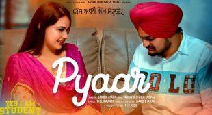Pyaar Lyrics – Sidhu Moose Wala